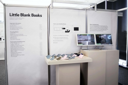 Little Blank Books Installation
