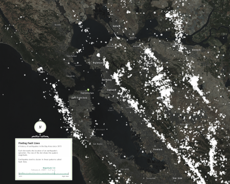 Bay Area Model Data Visualization and Map Study
